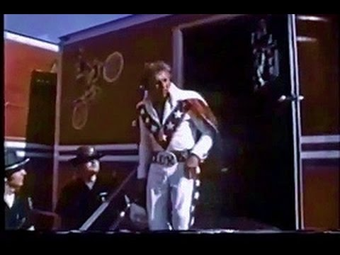 Houston Astrodome jump- EVEL KNIEVEL 1971