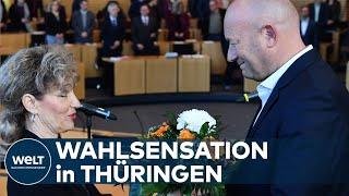 NEUER MINISTERPRÄSIDENT: AfD verhilft Kemmerich an die Thüringer Spitze