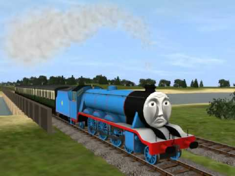 Trainz Remake Clip 3- Gordon Runs Dry