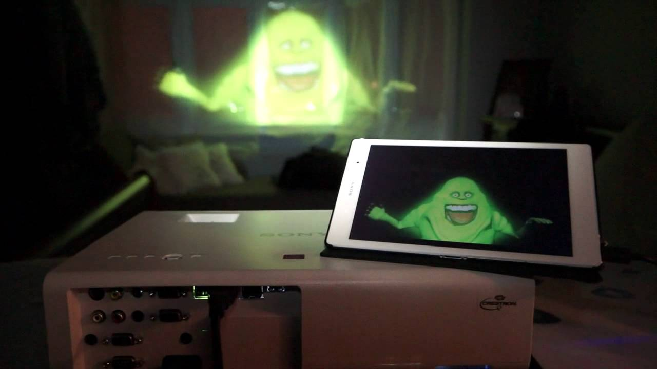Halloween Hologram Video