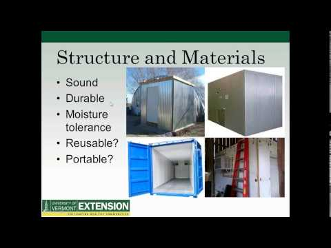 UVM Extension Crop Storage Webinar (Oct 15, 2014)