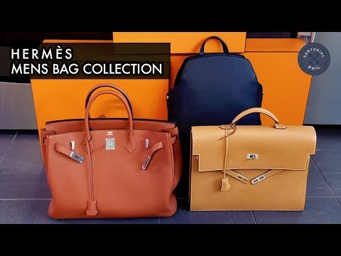 fe23ee536918 Hermès Men s Bag Collection 2018  Birkin 40
