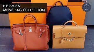 Hermès Men's Bag Collection 2018: Birkin 40, Cityback 27 and Kelly Depeche 38