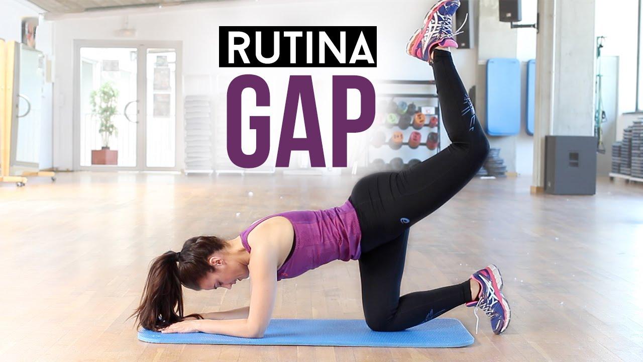 rutina semanal para gluteos piernas y abdomen
