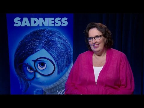 Phyllis Smith - Inside Out Interview HD