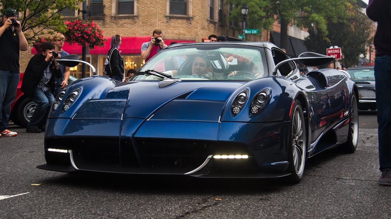 2018 Pagani Huayra Roadster More