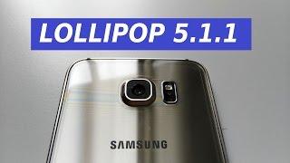 Samsung Galaxy S6 nuovo aggiornamento Lollipop 5.1.1