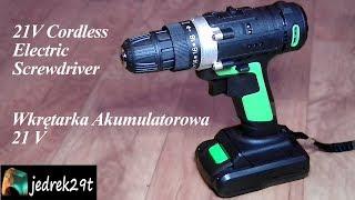 21V Cordless Electric Screwdriver from Banggood/Wkrętarka akumulatorowa 21V