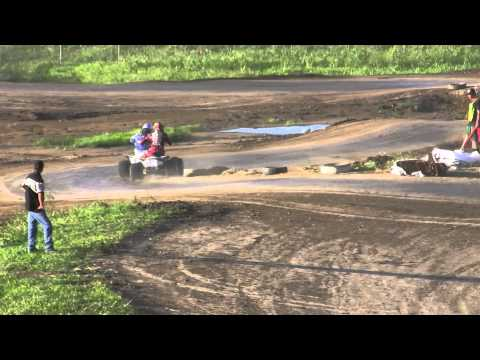 2010 ATVA Extreme Dirt Track Nationals Round 6 Pro Lites Main (Part 2)