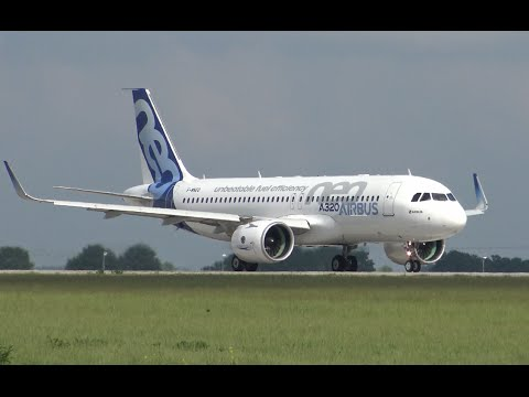 Airbus a320 vs airbus a320neo takeoff sound full hd for Virgin america a321neo cabin