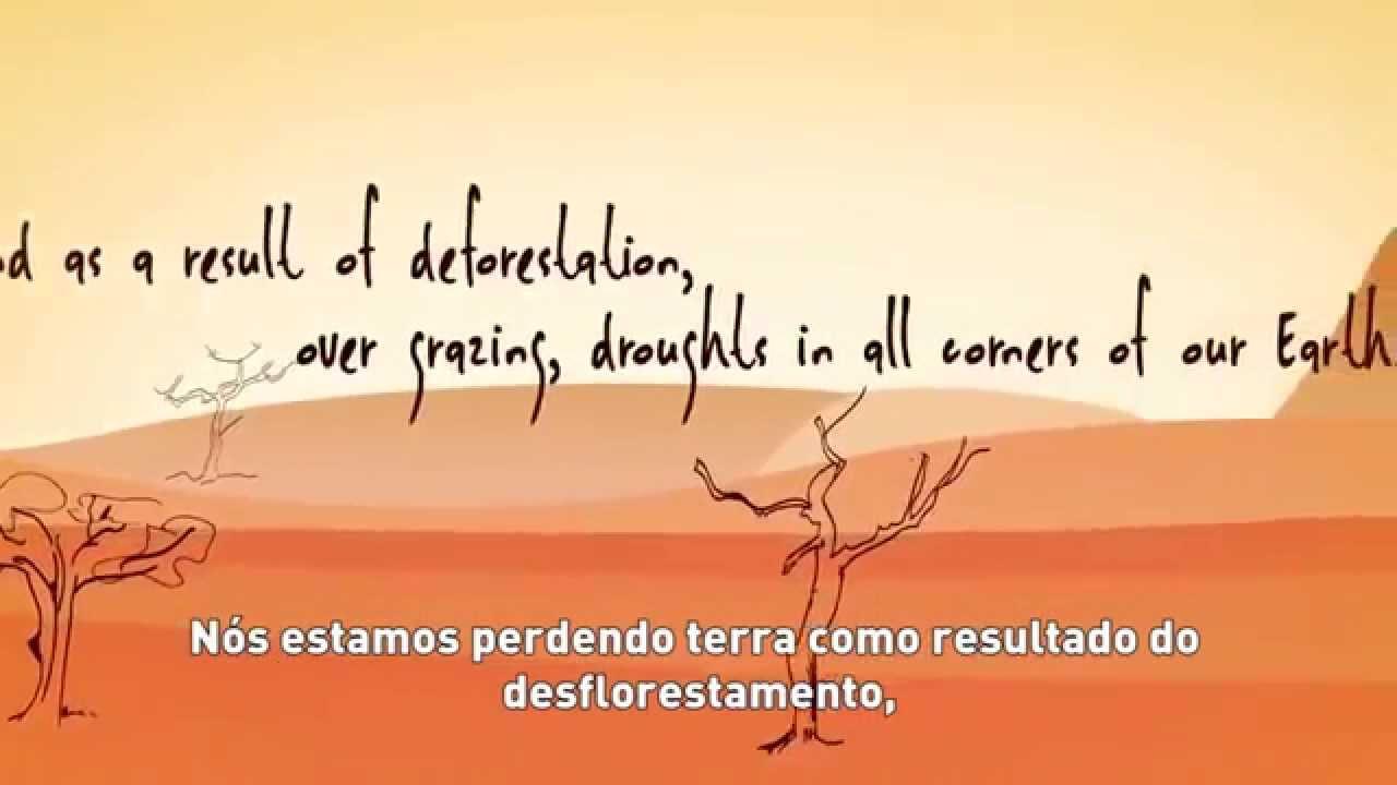 Degradação dos Solos - Youth4Land - Legendado em Português