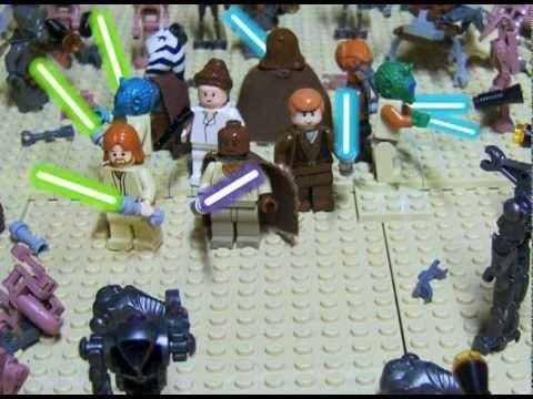 Lego Geonosian Arena Youtube