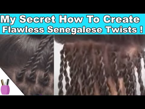 my secrets how to create flawless senegalese twist