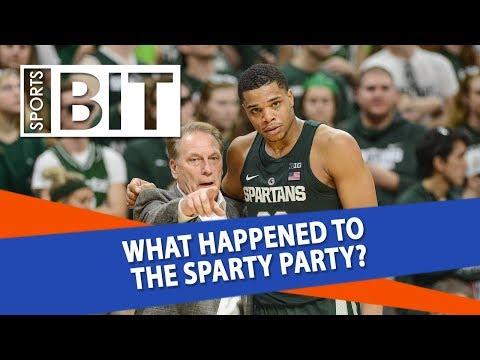 Indiana Hoosiers at Michigan State Spartans | Sports BIT | NCAAB Picks