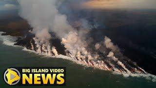 Hawaii Volcano Eruption Update - Wednesday Evening (July 18, 2018)