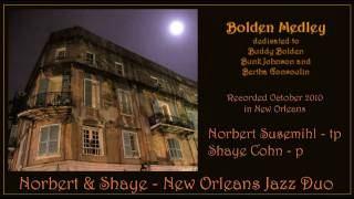 Bolden Medley - Norbert and Shaye - New Orleans Jazz Duo