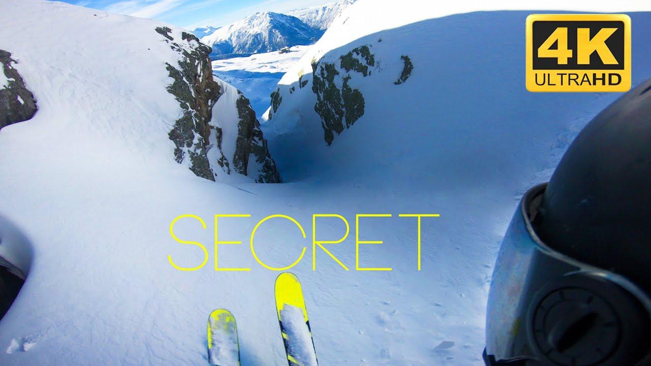 JUSTE DU SKI - Alpe d'Huez, spots secrets de freeride