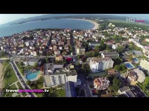 Primorsko, Bulgaria - (Flight video) Travel Channel Slovakia