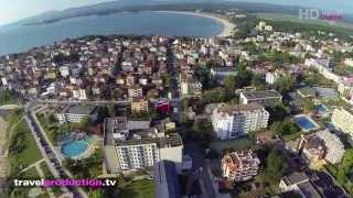 Primorsko 2014, Bulharsko - (Flight video) Travel Channel Slovakia