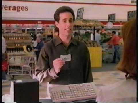 Jerry Seinfeld American Express Commercial - Supermarket (1997)