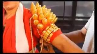 # ಯಕ್ಷಗಾನದ ವೇಷ ಕಟ್ಟುವ ಪೂರ್ಣ ಚಿತ್ರಣ#video credit : Pramada Upadhya, how to wear Yakshagana dress,