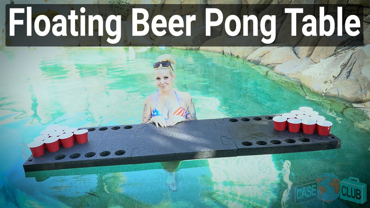 Case Club Floating Beer Pong Table  - Overview - Video