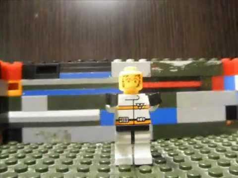 Смотреть Лего Сити - горячий побег (полиция + шахта Lego City)