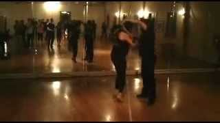 Abel Pena Salsa beg/int class at LA Dance Center