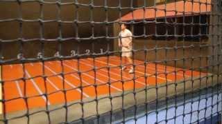 Real Tennis Match  at Cambridge CURTC 25.1.13