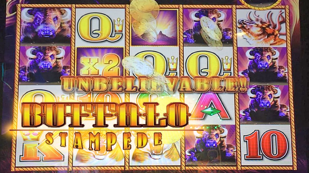 buffalo stampede slot machines free