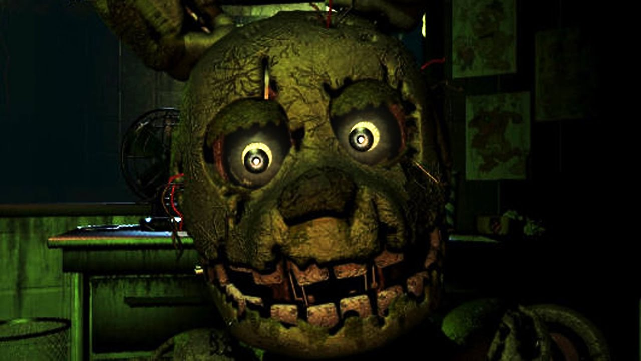 Five Nights At Freddy's 3 - EFF THIS GAME! (FNaF3)