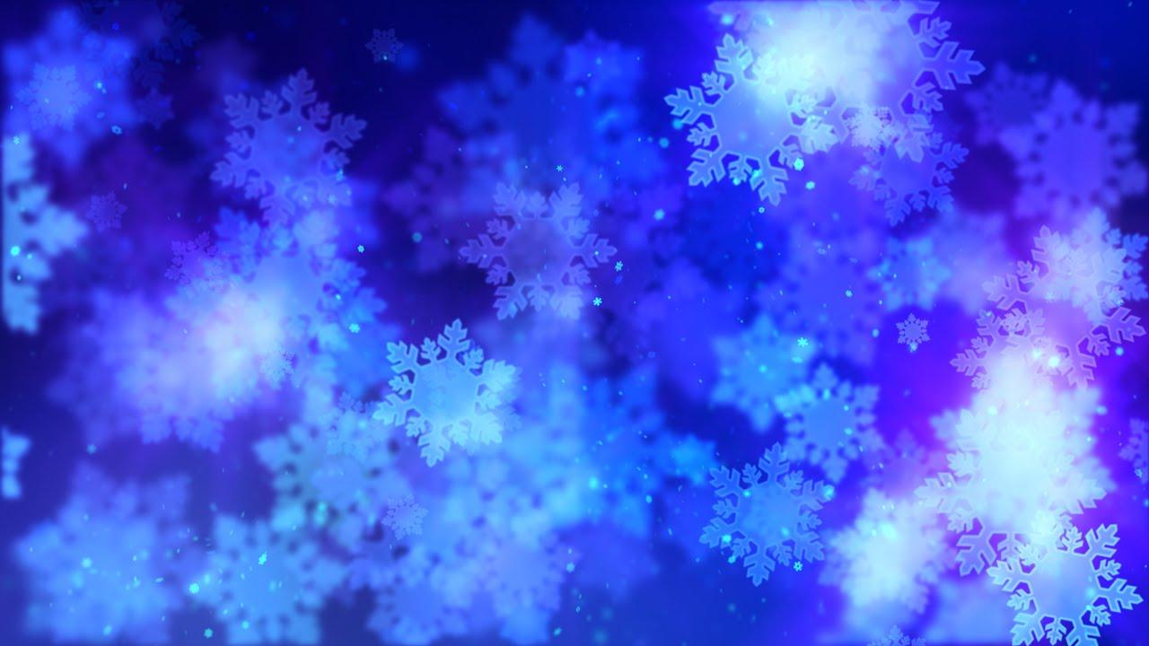 winter snowflake background youtube