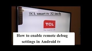 How to enable remote debug settings in Android tv