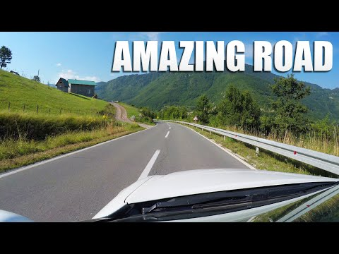Amazing road from Serbia to Montenegro!