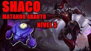 COMO SOLAR O ARAUTO DE SHACO NÍVEL 3? | League of Legends