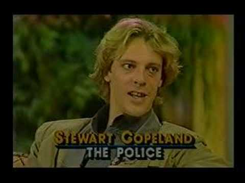 The Police Stewart Copeland Interview