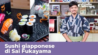 HOME MADE SUSHI-ORIGINAL JAPANESE Recipe from Sai Fukayama