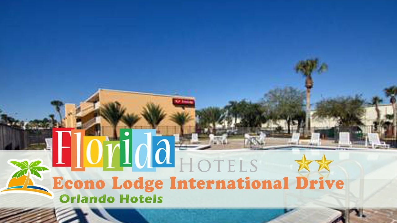 Econo Lodge International Drive Orlando Hotels Florida