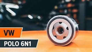 Kā nomainīt eļļas filtri un motoreļļa VW POLO 6n1 [AUTODOC VIDEOPAMĀCĪBA]