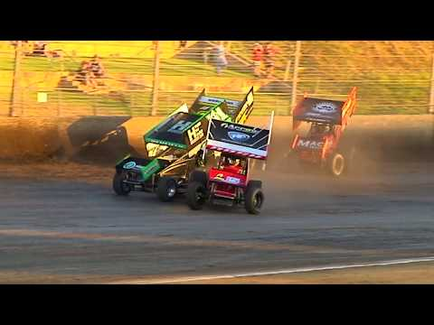 All the thrills and spills from the 2019/20 Speedway Season at Perth Motorplex. - dirt track racing video image