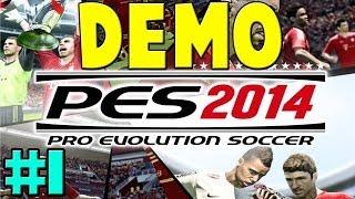 Pro Evolution Soccer 2014 Demo Gameplay Part 1 - FC Bayern Munchen vs Santos FC