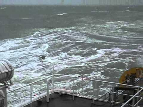 Severe gale conditions at the Greater Gabbard Offshore Wind Farm (24-09-2010)