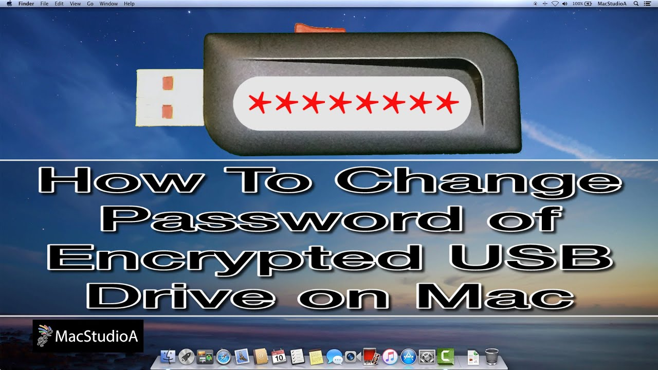 How To Change Password of Encrypted USB Drive on Mac