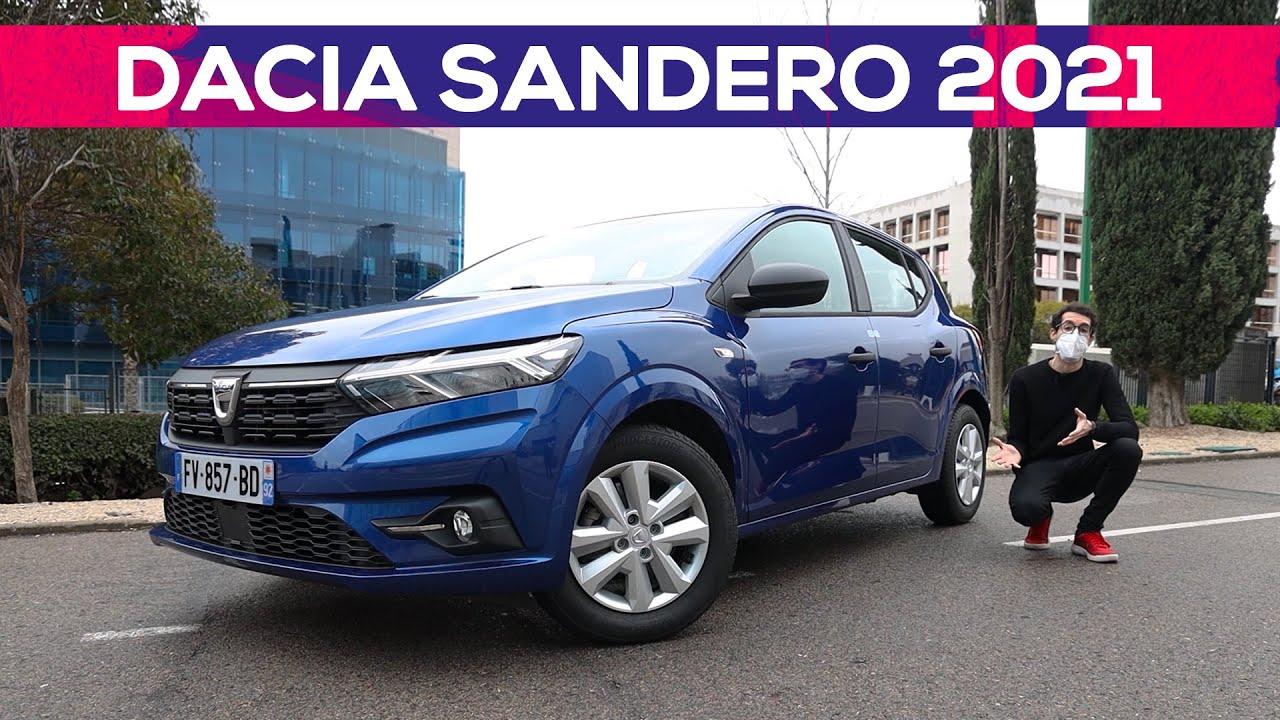 Dacia Sandero 2021 | Prueba / review en español | Coches SoyMotor.com