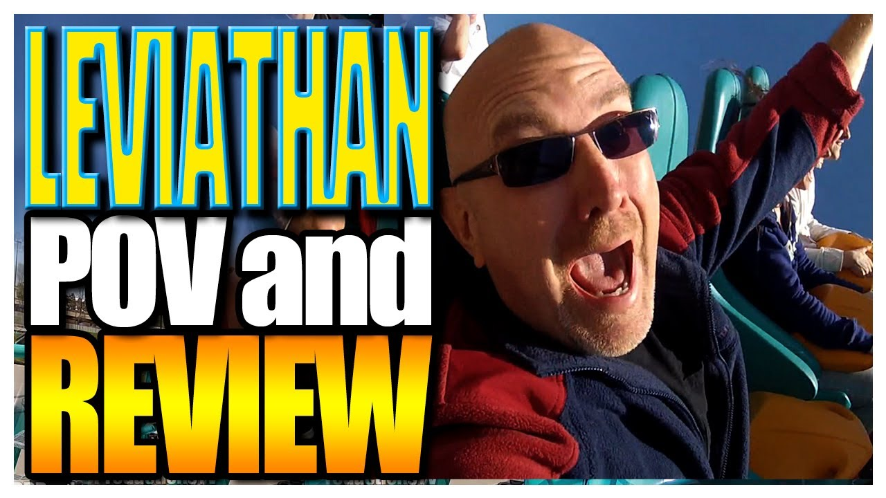 Leviathan POV and Review GoPro Hero2 1080 HD Canada's Wonderland 2012