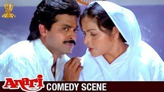 Venkatesh Hilarious Comedy Scene | Anari Movie | Karishma Kapoor |Suresh Productions
