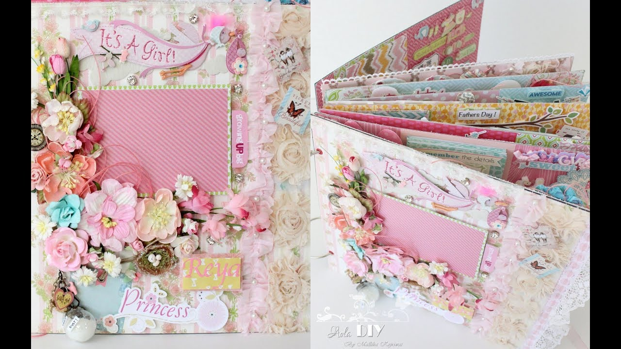 Baby Girl Scrapbook Album Share Great Crafty Ideas 12 X 12 Size