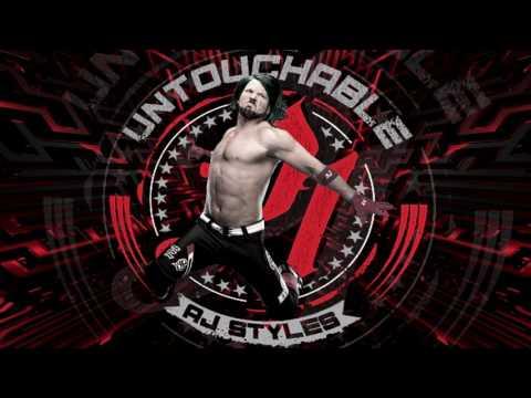 AJ Styles 1st WWE Theme - Phenomenal (Arena Effect)