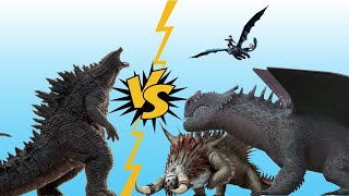 If Godzilla Was In How To Train Your Dragon Franchise