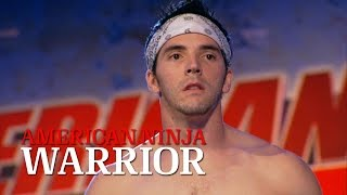 Drew Dreschel at the 2014 Miami Finals | American Ninja Warrior